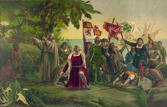 Cristoforo Colombo e la scoperta dell'America Ma l'impresa più celebre e significativa è senza dubbio quella compiuta da Cristoforo Colombo che il 12 ottobre 1492 raggiunse il continente americano, segnando una vera e propria svolta nella storia #viaggi #esploratori