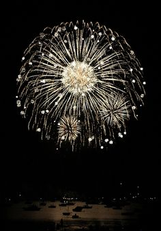 true story: i used to watch fireworks every night after supper. i wish that were my true story....