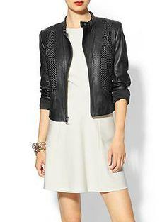 BCBGMAXAZRIA Misa Leather Jacket | Jessica Alba's Pick