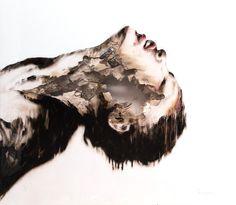This June, Lazarides will be welcoming Juan Miguel Palacios for his. Music Artwork, London Art, Life Design, Acrylic Colors, Female Portrait, Woman Face, Original Paintings, Wordpress, Drawings
