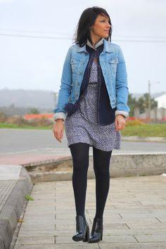 denim style #denim #fashion #fashionblogger #mode #style #pepejeans