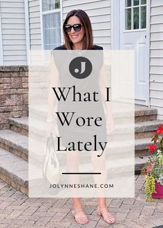 Jo-Lynne Shane shares two weeks of everyday summer outfits for women over 40, along with fashion tips and styling advice for creating effortless summer looks. Spring Summer Fashion, Spring Outfits, What I Wore, What To Wear, Everyday Casual Outfits, Fashion For Women Over 40, Ruched Dress, Night Looks, Summer Looks