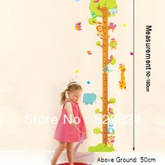 Aliexpress.com : Buy Tall Tree measure 50*180cm height wall stickers /kids wall stickers decorative painting background wallpaper, WS 36 from Reliable Tall Tree height wall stickers suppliers on SW-STAR Rainbow Home $6.59