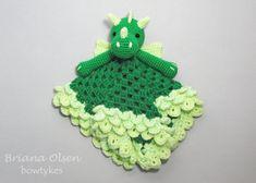 Dragon Lovey CROCHET PATTERN instant download  blankey by Bowtykes, $4.50