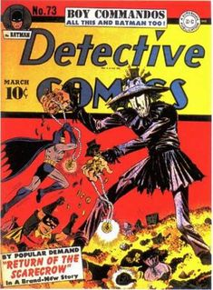 Detective Comics 73 Batman golden age DC comics