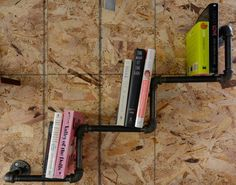 Step Down Pipe Book Shelf by DownthePipeline on Etsy