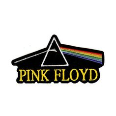 Pink Floyd Embroidery Patch - www.caprishop.com ❤ liked on Polyvore featuring filler