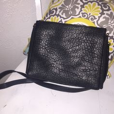 GREAT PRICE (FRENCH COLLECTION) Black cross body with detachable strap. Brand new- used once! You can fit a lot in this bag! French Connection Bags Crossbody Bags