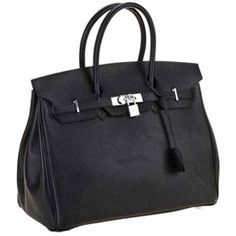 Replica Hermes Birkin Bag Black