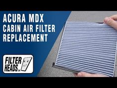 2014 acura mdx cabin filter replacement