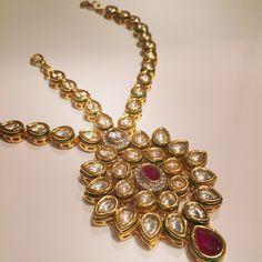 Kundan Maatha Patti from Anayah Jewellery