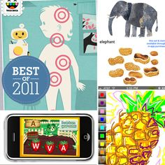 Best of 2011: The 20 Best Apps For Kids - www.lilsugar.com  I'll have to look into some of these