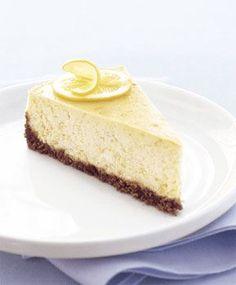 Lemon-Ginger Cheesecake Recipe  | Epicurious.com