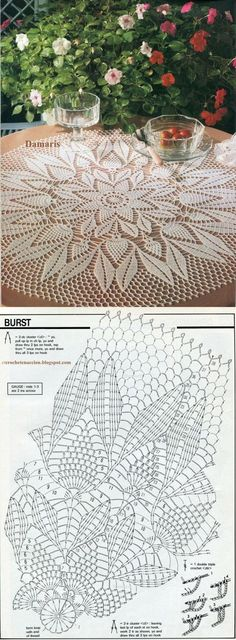 Lace Crochet Doily  ...<3 Deniz <3