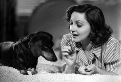 1939: Diana Lewis: Dachshund is this Star's Best Friend
