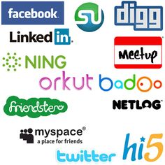 lists social networking teens
