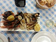 Marisco Seafood, Meals