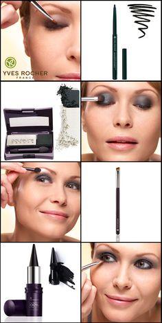 Yves Rocher smokey eye make-up avec 20% de REDUCTION http://fr.igraal.com/codes-promo/Yves-Rocher/code-privilege jusqu'au 5/04/12