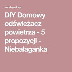 DIY Domowy odświeżacz powietrza - 5 propozycji - Niebałaganka