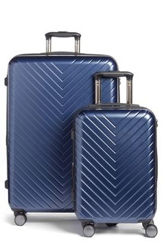 23930c2a6abcf Nordstrom Chevron 29-Inch & 20-Inch Spinner Luggage Set ($408 Value
