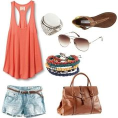 perfect beach outfit.
