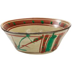 Rare Okinawa Bowl by Shoji Hamada in Signed Box | From a unique collection of antique and modern ceramics at https://www.1stdibs.com/furniture/asian-art-furniture/ceramics/