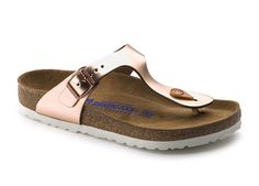 Metallic Berks!! 9 Cute Sandals That Won't Kill Your Feet  via @PureWow.