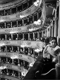 Premiere at La Scala, Milan, 1934 by Alfred Eisenstaedt