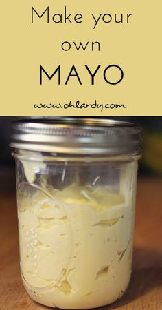 Ditch the store bought Mayo! - Oh Lardy! :: Want all the Oh Lardy awesomeness delivered right to your inbox?  Grab our newsletter here: https://il313.infusionsoft.com/app/form/d0d7082c8e0308d3bca548dedc511cae