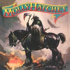 Molly Hatchet first album cover