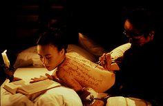 """The pillow book"""