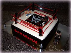 "wwf cake | My Cake Sweet Dreams"": WWE Wrestling Cake"