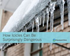 How dangerous are falling icicles? Here's the facts. #winter
