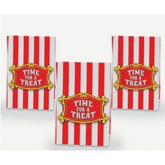 circus treat bags