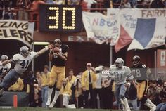 Super Bowl XIII, Pittsburgh Steelers Randy Grossman in action, making. Superbowl Champions, Pittsburgh Sports, Dallas Cowboys, Baseball Cards, Dallas Cowboys Football