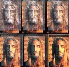Devotion to the Holy Face of Jesus: The Shroud Of Christ By Paul Vignon D.Sc (Fr) Part Pictures Of Jesus Christ, Religious Pictures, Catholic Art, Religious Art, Croix Christ, Image Jesus, Saint Esprit, Jesus Painting, Jesus Face