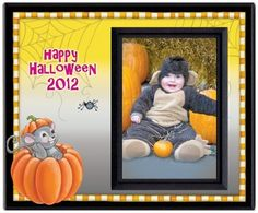 "Halloween 2012 - Picture Frame Gift by Expressly Yours! Photo Expressions. $7.99. Easy to Mail - virtually unbreakable. Huge selection of designs and sentiments. Gifts for all occasions and family members. Holds 3.5"" x 5"" photo. Your satisfaction always guaranteed. Fun to give, fun to receive...these affordable picture frames are an easy gift and a great way to share photos. Choose from a huge selection of sentiments for every gift-giving occasion. Original designs from Northwes..."