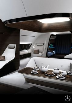In time for EBACE 2015, which took place May 2015 in Geneva, Mercedes-Benz Style and Lufthansa Technik have announced their collaboration on the design and completion of VIP aircraft cabins.
