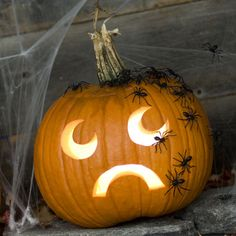 pumpkin carving Halloween Jack, Holidays Halloween, Halloween Pumpkins, Halloween Crafts, Happy Halloween, Halloween Stuff, Halloween Party, Halloween Clothes, Halloween Carnival