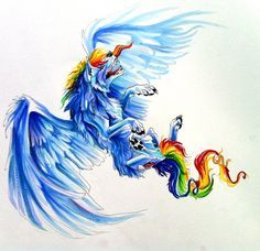Rainbow Dash? by Lucky978.deviantart.com on @deviantART