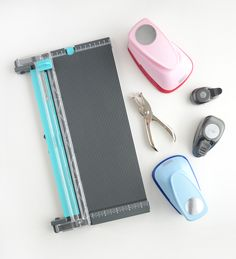 The beginners basic list of supplies for card making