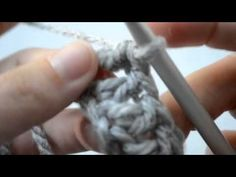 How to crochet the bobble stitch Part 1 of 5 Crochet Lessons - YouTube