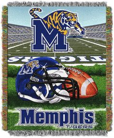 7297c0975 Memphis Tigers Tapestry Throw by Northwest Memphis College