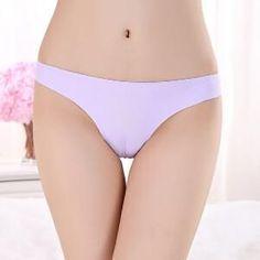 2017 Invisible Seamless Underwear Women Panties ThongsNylon Spandex Crotch Thong Tanga Braga Panty Ropa Interior Mujer Calcinha
