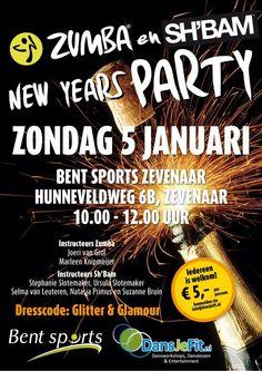 Zondag 5 januari 2014 #zumba #sh'bam party @Gemeente Zevenaar iedereen is welkom! Energie fun genieten van de lekkerste beats. Maandag 30 december 2013. via twitter @DansJeFit.