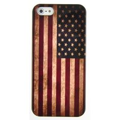Retro American Flag Iphone 5 Case ($20) ❤ liked on Polyvore featuring accessories, tech accessories, phone cases, phones, iphone, iphone cases, retro iphone case, iphone cover case and apple iphone cases