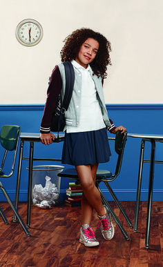 Time for some school spirit! Shop our Old Navy 2015 back to school uniforms to find the perfect fall looks for your kids. And don't forget to add a little flair with metallic sneakers, a varsity jacket, or a fun backpack.