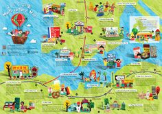 Multi-cultural map of Hong Kong (2013)