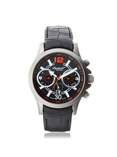 54% OFF Ingersoll Men's 1624TBK Clark Black Titanium Watch