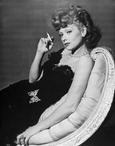 """Lucille Ball - comedian and star of """"I Love Lucy"""", film and television executive. """"In 1962, Ball became the first woman to run a major television studio, Desilu, which produced many successful and popular television series."""